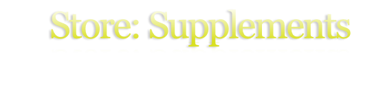 Store: Supplements